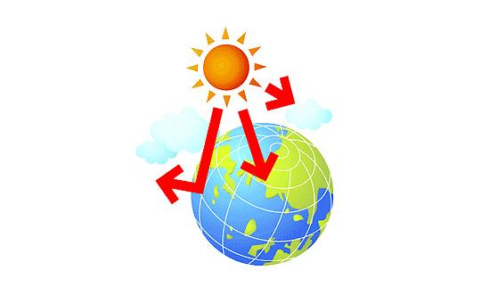 画像:熱の反射の仕組み